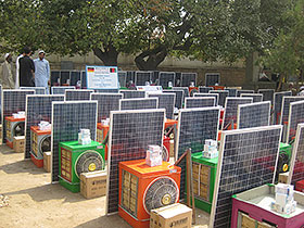 Solar Home Systems for Allahi High School in Nangarhar
