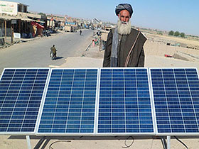 Provision and Installation of 300 Solar Home Systems for shopkeeper in Kandahar Province in 2012
