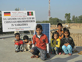 Solar Home Systems for Christian-Muslim School in Sargodha, Pakistan in 2013